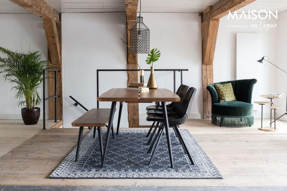 Sein modernes und elegantes Design ist jedoch perfekt geeignet, um von selbst zu glänzen