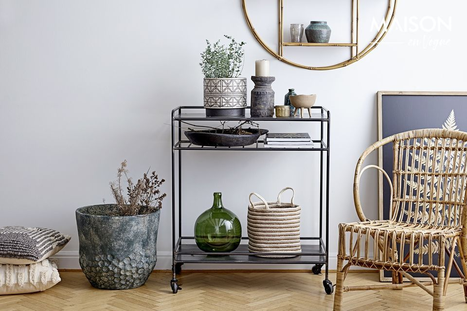 Eine transparente Vase, die in Ihrem Interieur die schönste Wirkung haben wird