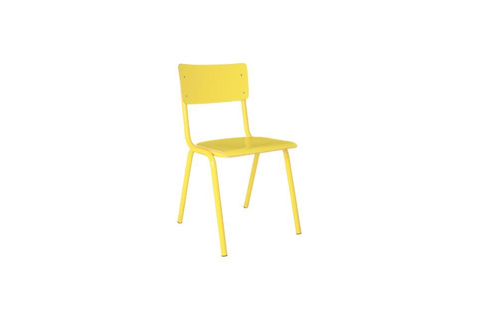 Back To School Stuhl gelb Zuiver
