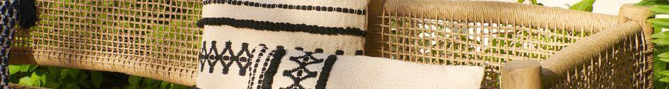 Materialbeschreibung Baumwollkissen Marrakesch