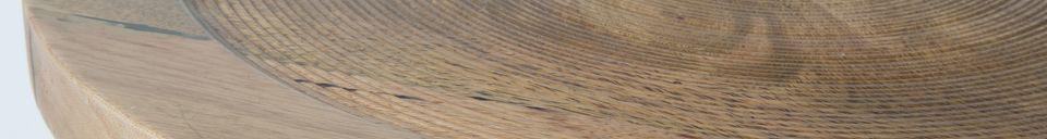 Materialbeschreibung Beistelltisch Dendron S