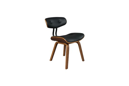Braun-schwarzer Stuhl Black Wood ohne jede Grenze