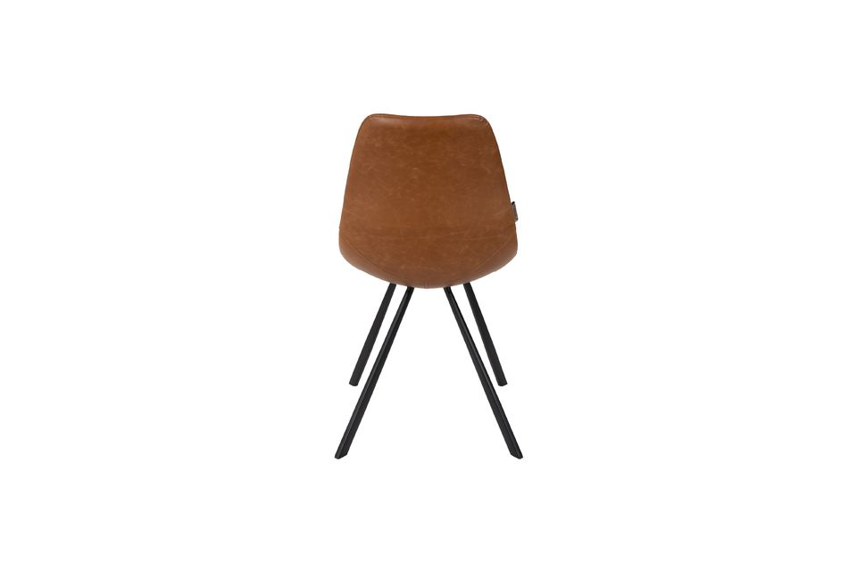 Brauner Stuhl Franky - 8