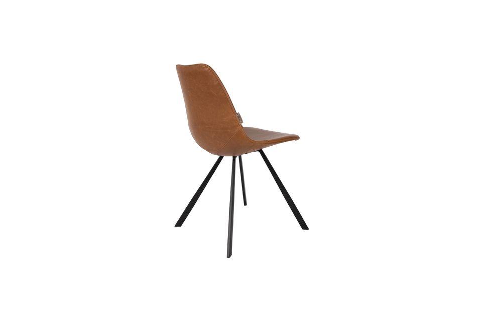 Brauner Stuhl Franky - 9