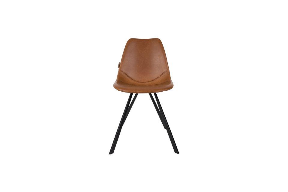 Brauner Stuhl Franky - 10