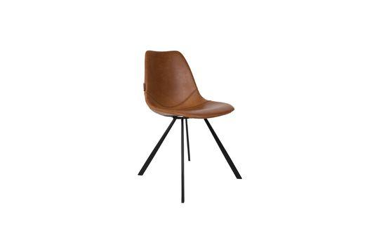 Brauner Stuhl Franky ohne jede Grenze