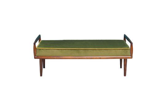 Farrow Sitzbank mit grünem Samt