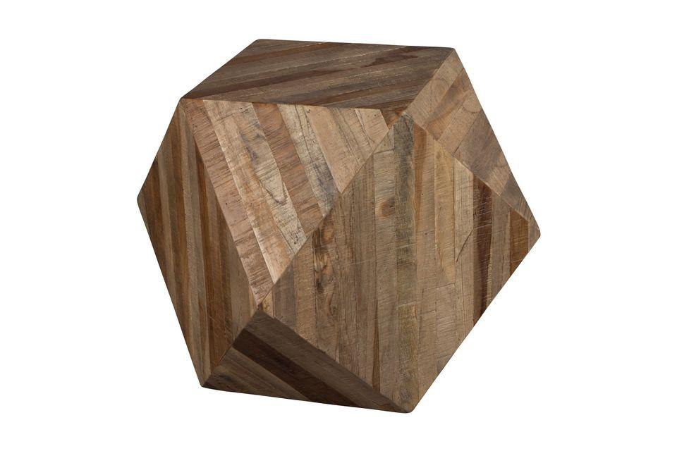 Die Dekoration aus Geo-Holz und seine einzigartige Form werden es nicht versäumen
