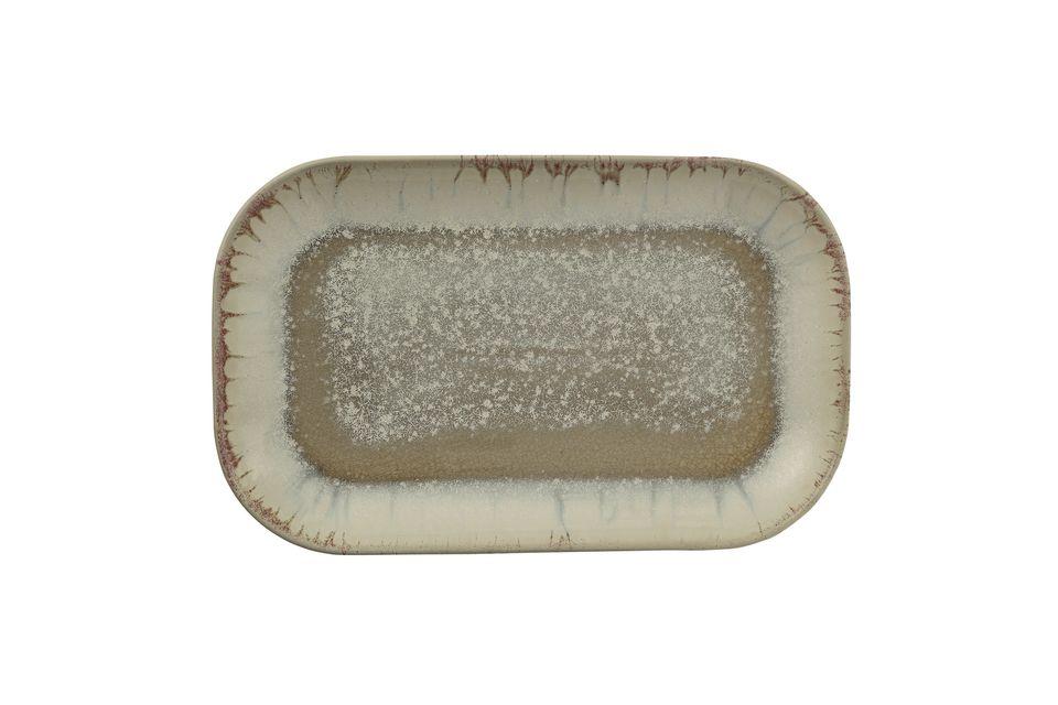 Geschirr Bruyère aus mehrfarbigem Stein