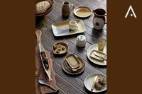 Geschirr und Porzellan Bloomingville