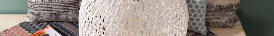 Materialbeschreibung Hängeleuchte Cable 40 weiß
