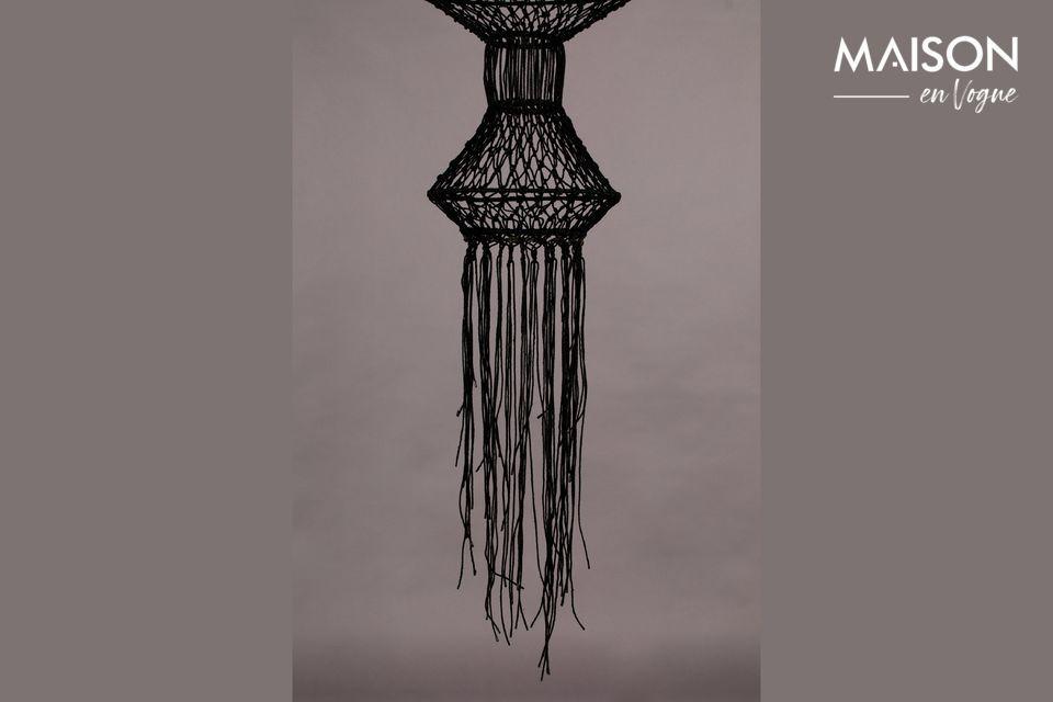 Indonesisch inspirierte Lampe