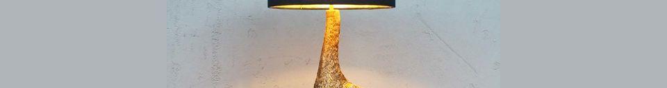 Materialbeschreibung Howard-Tischlampe