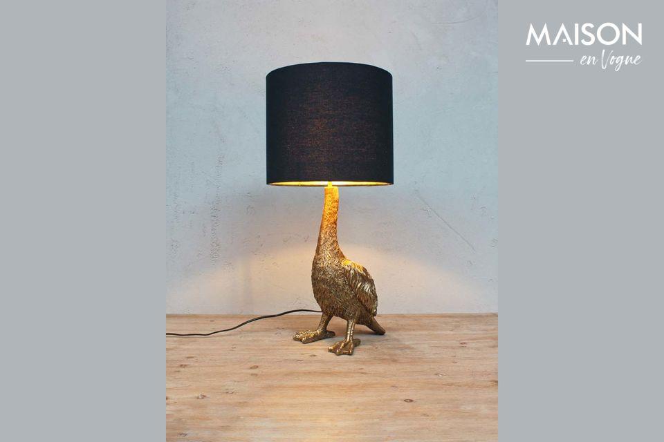 Eine originelle Leuchte für eine verspielte und schicke Dekoration