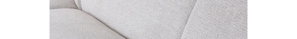 Materialbeschreibung Jax-Sofaelement