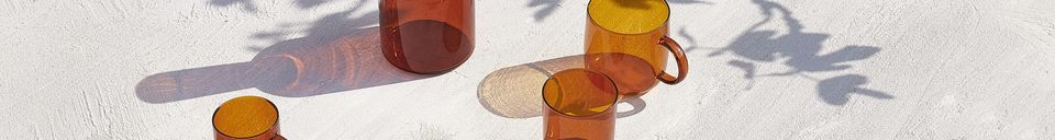 Materialbeschreibung Karaffe und Glas Lasi