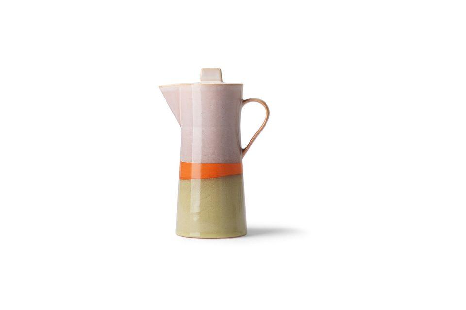 Eine Kaffeemaschine im Vintage-Look