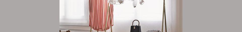 Materialbeschreibung Kleiderständer Cusance aus Messing