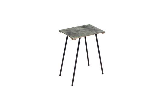 Kleiner Aluminium-Beistelltisch Aleyrac