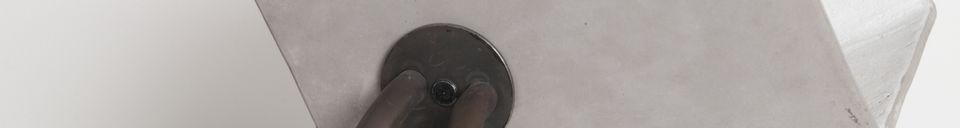 Materialbeschreibung Lampe Concrete Up