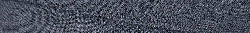 Materialbeschreibung Linkes Ecksofa Fat Freddy grau-blau