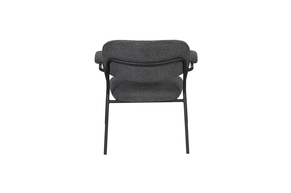 Lounge-Sessel Jolien dunkelgrau - 9