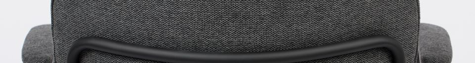 Materialbeschreibung Lounge-Sessel Jolien dunkelgrau
