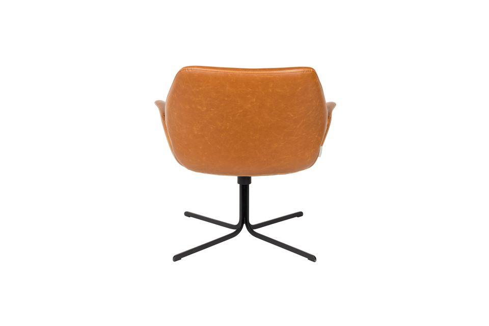 Lounge-Stuhl Nikki braun - 7