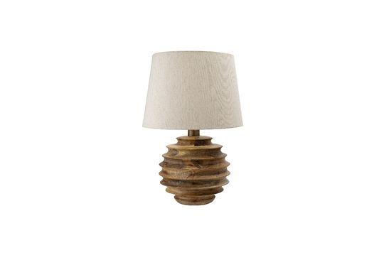 Magny Tischlampe aus Mangoholz