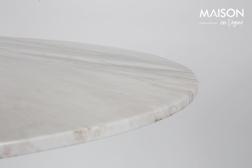Marble King Tisch 90' schwarz - 8
