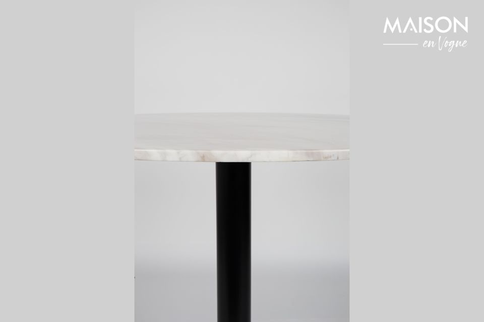 Marble King Tisch 90' schwarz - 11