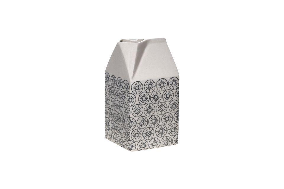 Eine Milchkanne mit skurrilem Design