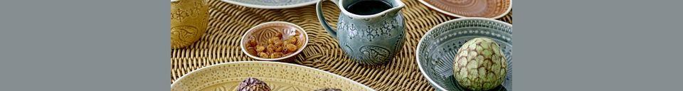 Materialbeschreibung Milchkanne aus Stein Rani