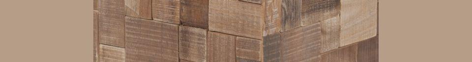Materialbeschreibung Mosaik-Dekorationstisch