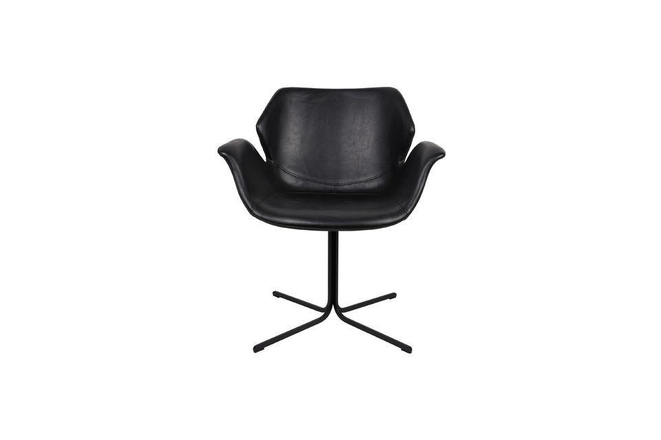 Nikki-Sessel ganz schwarz - 7