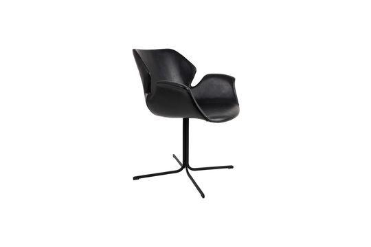 Nikki-Sessel ganz schwarz ohne jede Grenze