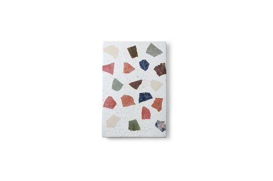 Platte Tauxigny aus Marmor und Terrazzo
