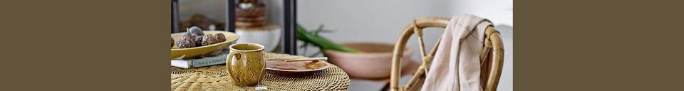 Materialbeschreibung Rattan-Stuhl Julietta