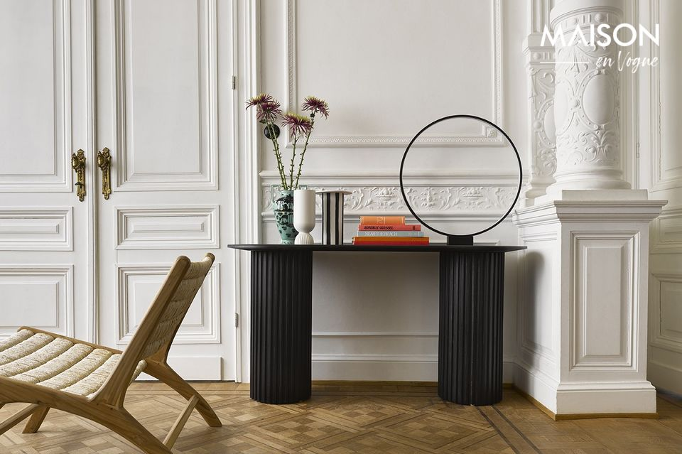 Eine moderne Lampe mit revolutionärem Design