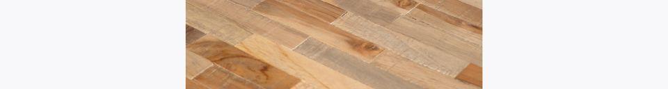 Materialbeschreibung Runder Bar-Tisch Maze in Natur