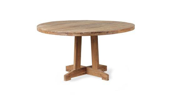 Runder Tisch Argancy aus Teakholz