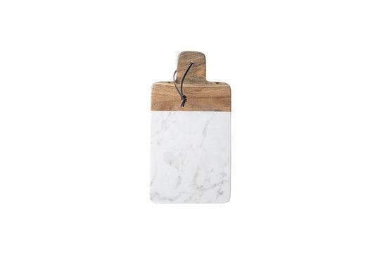Schneidebrett aus weißem Marmor Cairanne ohne jede Grenze