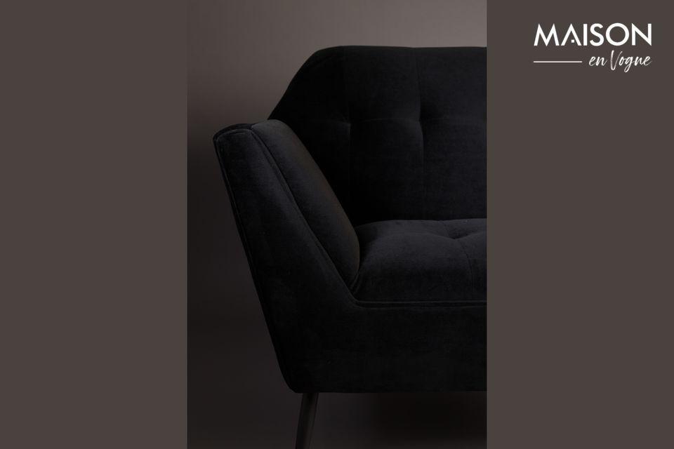 Schwarze Kate Lounge-Stuhl - Ein schöner Art-Déco-Sessel ...