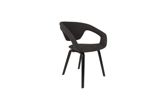 Schwarzer und dunkelgrauer Flexback-Sessel ohne jede Grenze