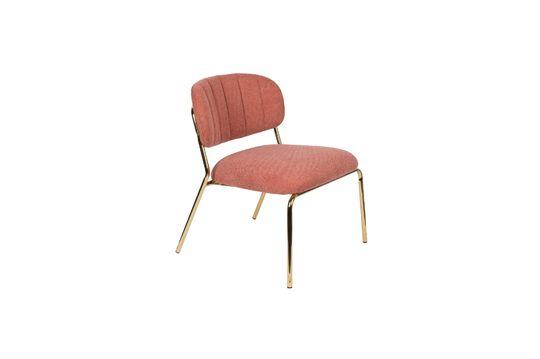Sessel Jolien gold und rosa ohne jede Grenze