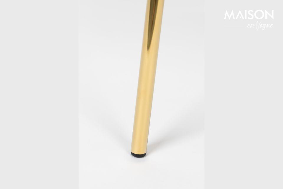 Die Beine sind aus pulverbeschichtetem Stahl gefertigt