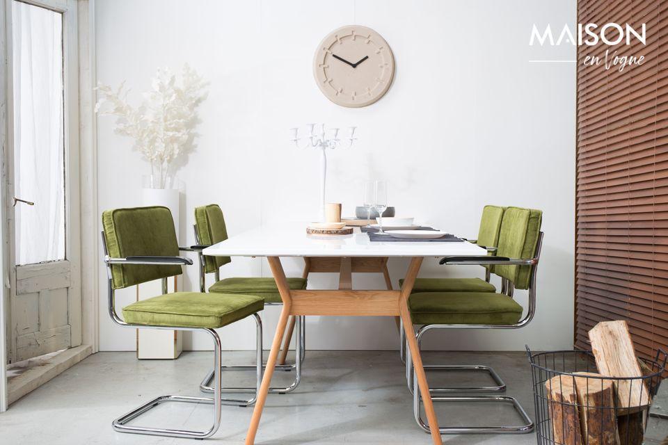 Ein Sessel mit zeitlosem Design