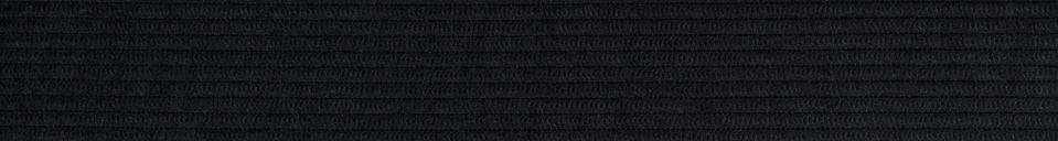 Materialbeschreibung Sessel Ridge Rib schwarz