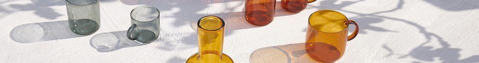 Materialbeschreibung Set mit 4 Glastassen Lasi