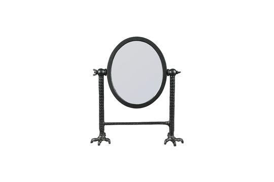 Spiegel Falcon in schwarz